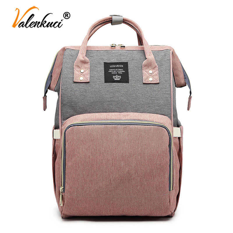 Female Backpacks for Women Diaper Bags Mummy Maternity Nappy Bags Baby Care Travel Backpack Designer Multi-Pocket Mummy Backpack
