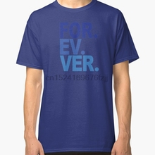 543e3f9efd09 Printed Men T Shirt Cotton tshirts O-Neck Short-Sleeve Forever. For-