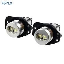 wholesales LED angel eyes bulb for BMW E90/91 6W car Led marker  5sets/lot  free shipping цена