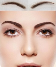 To Long lasting Natural Wear Card Eyebrow 2018 Real Sobrancelha Women s Fake Eyebrow New Arrival