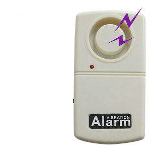 120dB Mini Seismic Detector Doorbell Anti-theft Home Security Vibration Sensor Anti-theft System Warehouse Door Stop