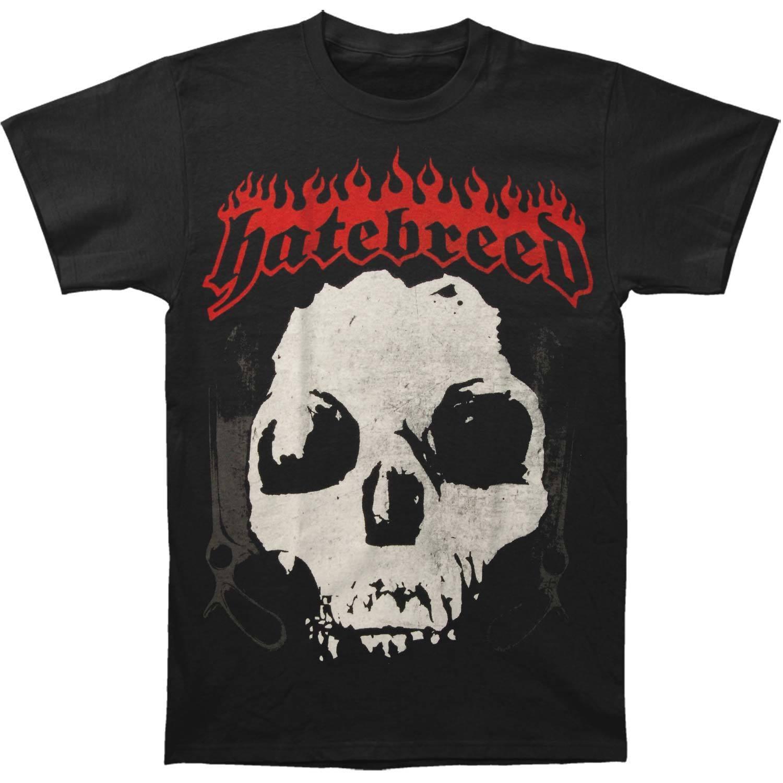 Hatebreed Men's Driven By Suffering T-shirt BlackNew T Shirt Spring Summer