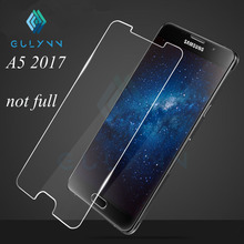GULYNN NEW For Glass Samsung A5 2017 Screen Protector Tempered Glass For Samsung Galaxy A5 2017 Glass A520 SM-A520F Phone Film