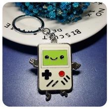 GRANDBLING Cute Cartoon Game Boy Keychain Gift Key Ring Holder