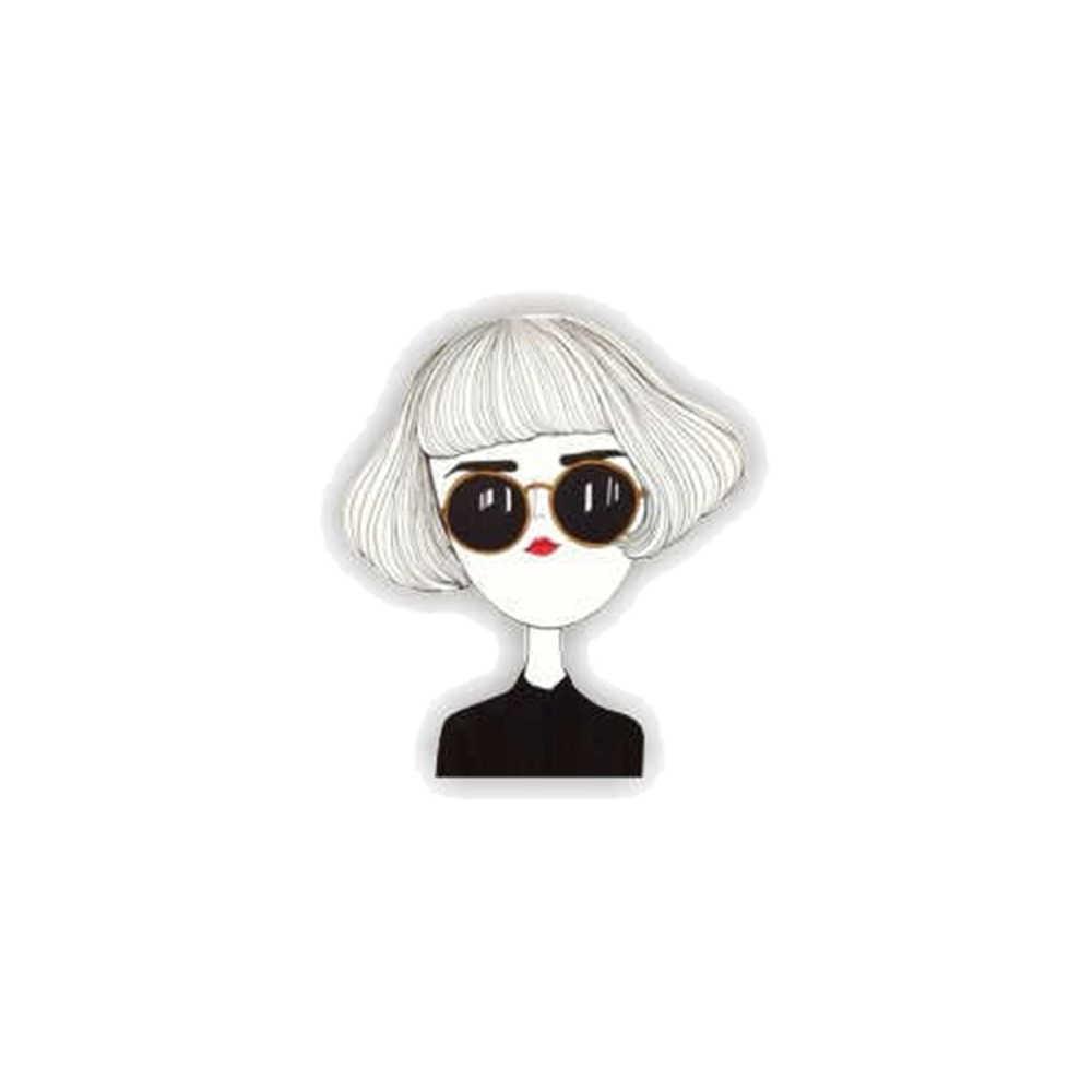 1 Pcs Kartun Ikon Keren Gadis Putri Ikon Lencana Di Ransel Bros Pin untuk Pakaian Akrilik Lencana untuk Wanita Wanita hadiah