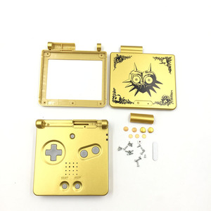 Image 5 - Gold Plastic Housing Shell Case Cover for GBA SP Majoras Mask Limited Edition
