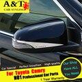 Para recortar A & T Para Camry Camry espejo Retrovisor Espejo pegatinas de Coches de cromo styling car 2015 Para Camry especial de alta qual