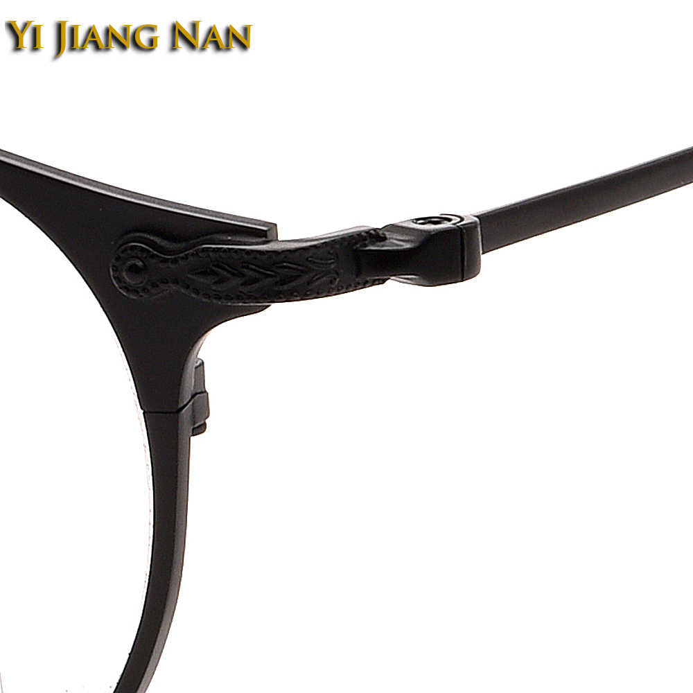 Vintage Bril Optik Vrouwen Oculos Retro Brillen IP Plating Niet Verliezen Kleur Studenten Brillen Bril Mannen Bril Frames