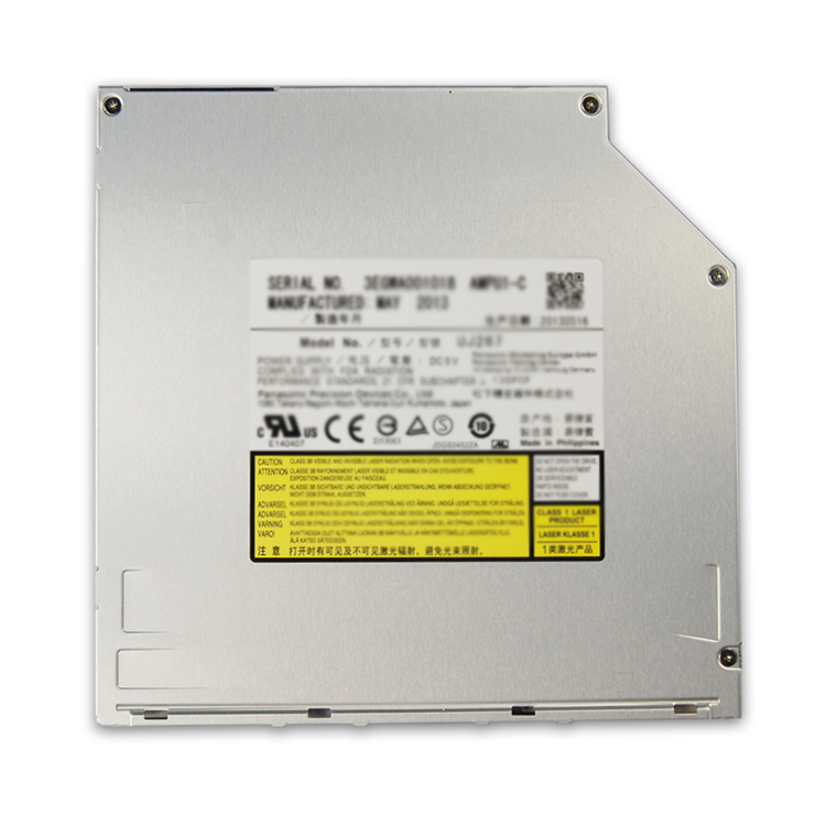 for Apple A1136 iBook G5 Powerbook G4 Mac Mini Superdrive UJ-875 8X DL DVD RW Burner CD-R Writer IDE Optical Drive Replacement image