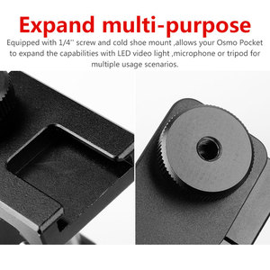 Image 5 - Ulanzi OP 1 Osmo Pocket Accessoires Mobiele Telefoon Houder Mount Set Vaste Stand Beugel voor Dji Osmo Pocket Handheld Camera S