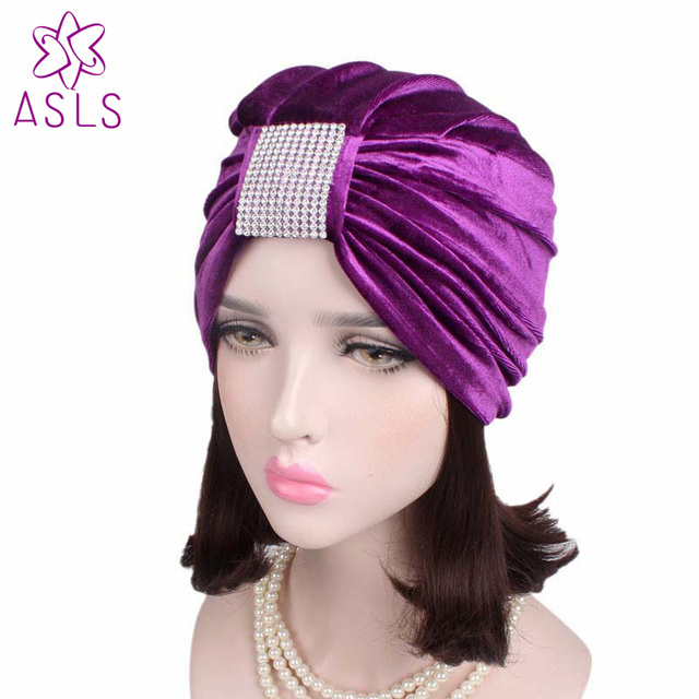 8de05373043d1 5pcs lot New Fashion Women s Winter Warm Knit Turban Cross Twist Arab Hair  Wrap Hat Cap Beanie for ladies