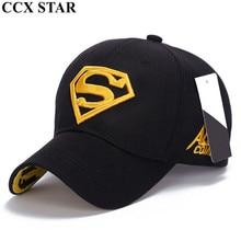 CCX estrella fresco Superman gorras de béisbol Casquette Snapback sombrero  casquillo del camionero(China) 20054c15ed2