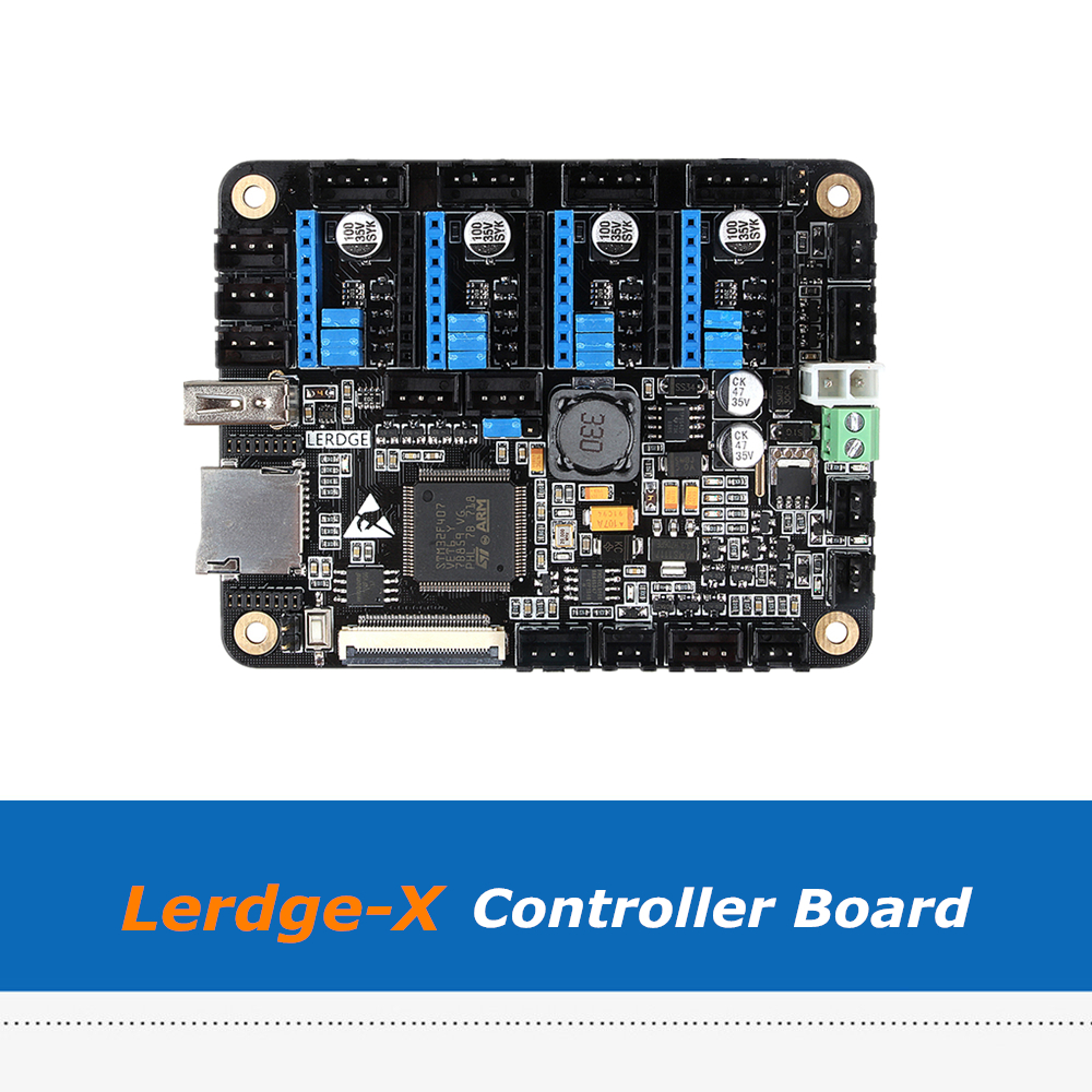 LERDGE 3D Printer Board ARM 32Bit Controller Motherboard  mainboard PT100 A4988