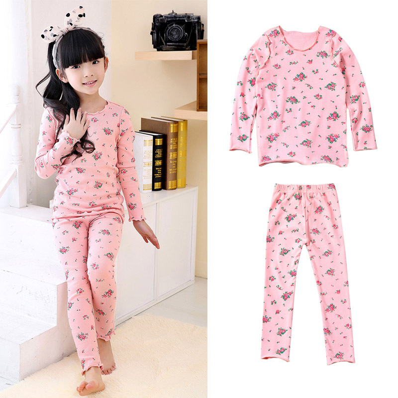 2016 New Style Long Sleeve Girls Sets Children Sets including top pant a 2pcs set Girls