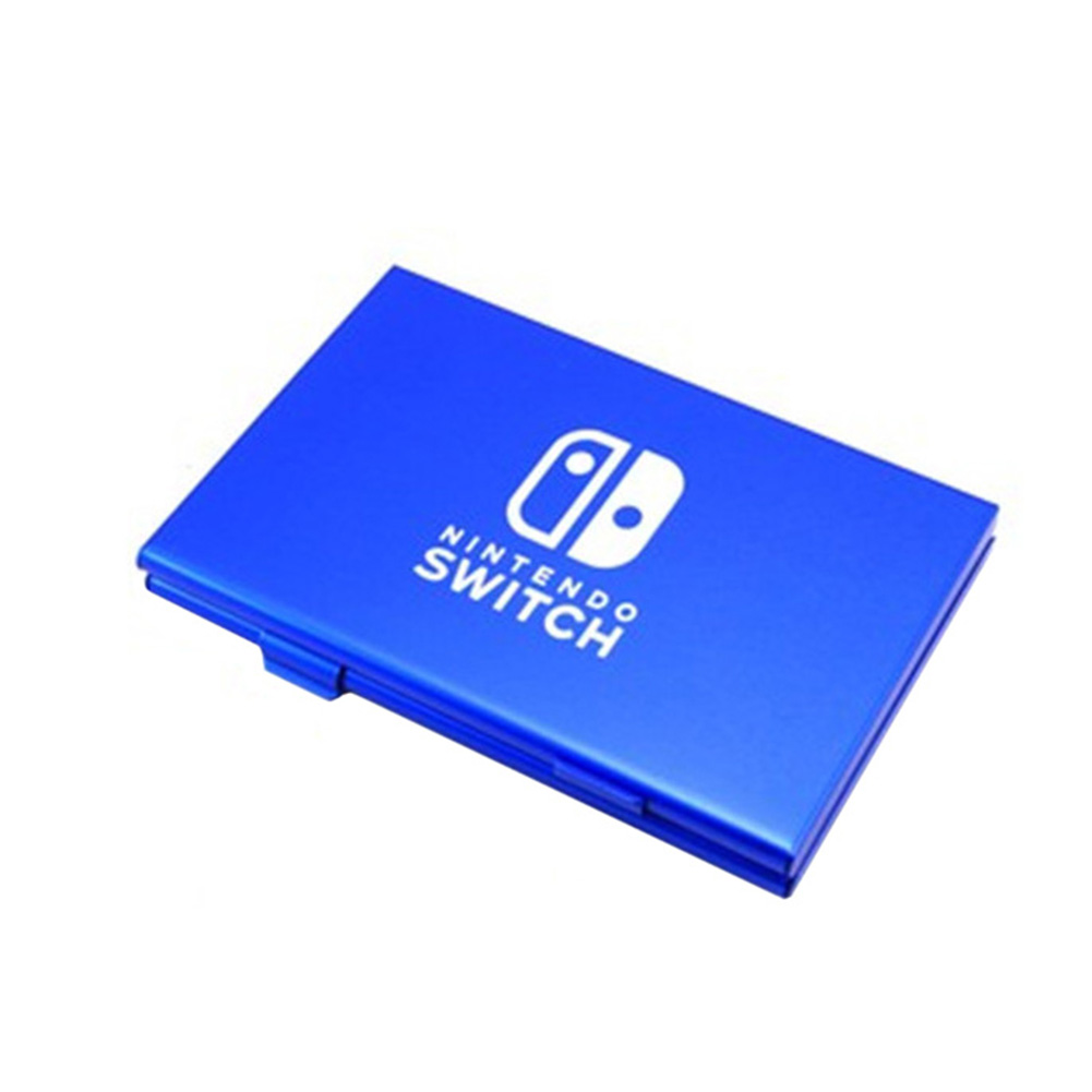 6 In 1 Aluminum Game Card Cartridge Case Holder Storage Box For Nintendo Switch  Game Accessories