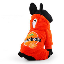 NEW Winter Pet Clothes Orange Juice Dog Pikachu Totoro Sweater Hoodie Cat Coat Puppy Apparel Costume