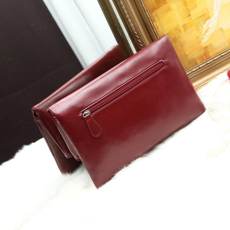 Summer 2018 Korea fashion envelope bag s casual hand bag Clutch female bag