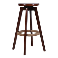 Wood Bar Chairs Are Rotating Bar Chair Simple High Foot Stool Chair Home Bar Stool