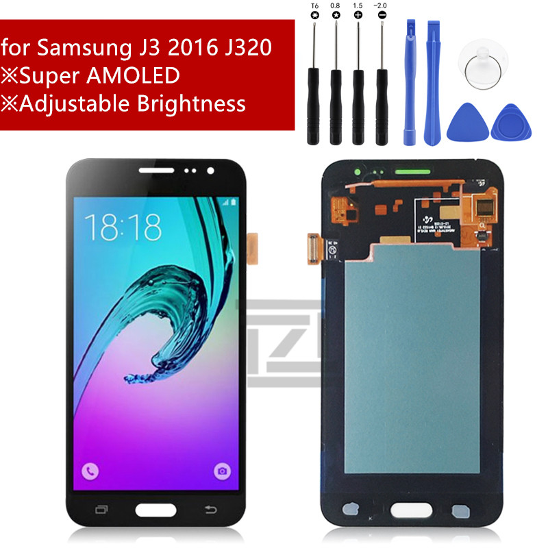 For Samsung Galaxy J3 2016 J320 LCD Display Touch Screen Digitizer Assembly LCD Display for Galaxy