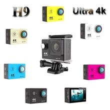 Горячие Продажи H9R H9 Водонепроницаемый Действий Камеры 1080 P 2.0 «Экран HD WIFI Пульт Дистанционного Управления Высокое качество Спорт Камеры
