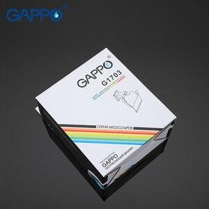 Image 5 - Держатели для бумаги GAPPO, держатели для туалетной бумаги из нержавеющей стали, вешалка для рулонной бумаги с крышкой, аксессуары для ванной комнаты, настенное крепление