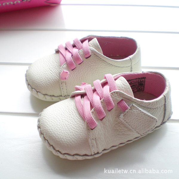 2017 OMN fashion white color baby girls casual shoes soft sole infant kids toddler shoes free shipping