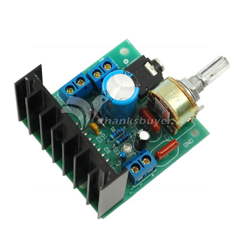 AC/DC12V TDA7297 Rev A Low Noise Audio Amplifier Board 2*15W Dual-Channel Digital Stereo dhl ems ni scxi 1162 assy 182235 01 rev a 32 channel optically isolated digital input c3 d9