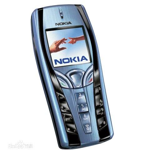 7250 טלפון נייד מקורי משופץ נוקיה 7250 טלפון זול ישן צבע כחול משלוח חינם