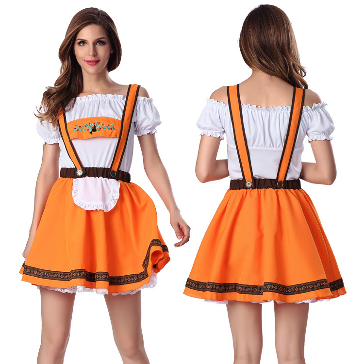 font b Sexy b font Halloween maid costume German Beer girl costume Oktoberfest Wench Fancy