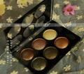 6 colors eye shadow Palette Natural Glitter Smoky Eyeshadow Palette bronzer highlighters makeup