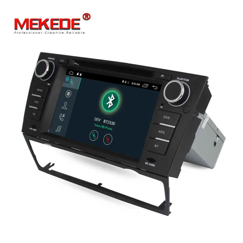 MEKEDE Free 16G Map Factory Price Android 7 1 Car Stereo For E90 E91 E92  E93 With Wifi 4G GPS BT Radio USB Steering Wheel (SUPER PROMO May 2019)