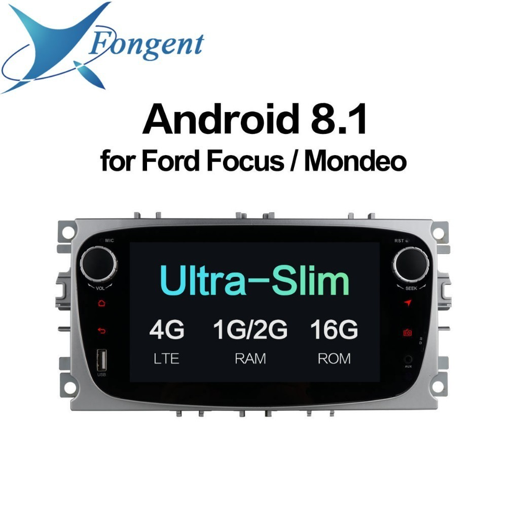 for Ford Focus Mondeo Kuga C-MAX S-MAX Galaxy Car Audio Android DVD Multimedia Player GPS Navigator Radio Stereo Car Computer