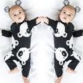 Xmas Do Bebê Recém-nascido Da Menina do Menino de Algodão de Manga Longa Romper Macacão de Bebê Meninas Bonito Roupas de Algodão Roupa
