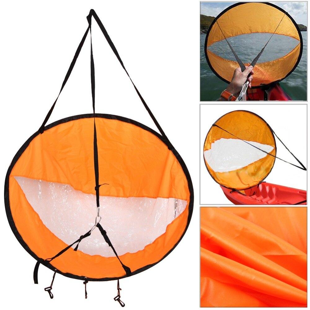 42 /108 cmSAIL Pliable Kayak Bateau Vent Voile Sup Paddle Board Voile Canoë course PADDLE Aviron Bateaux Vent fenêtre transparente dropship
