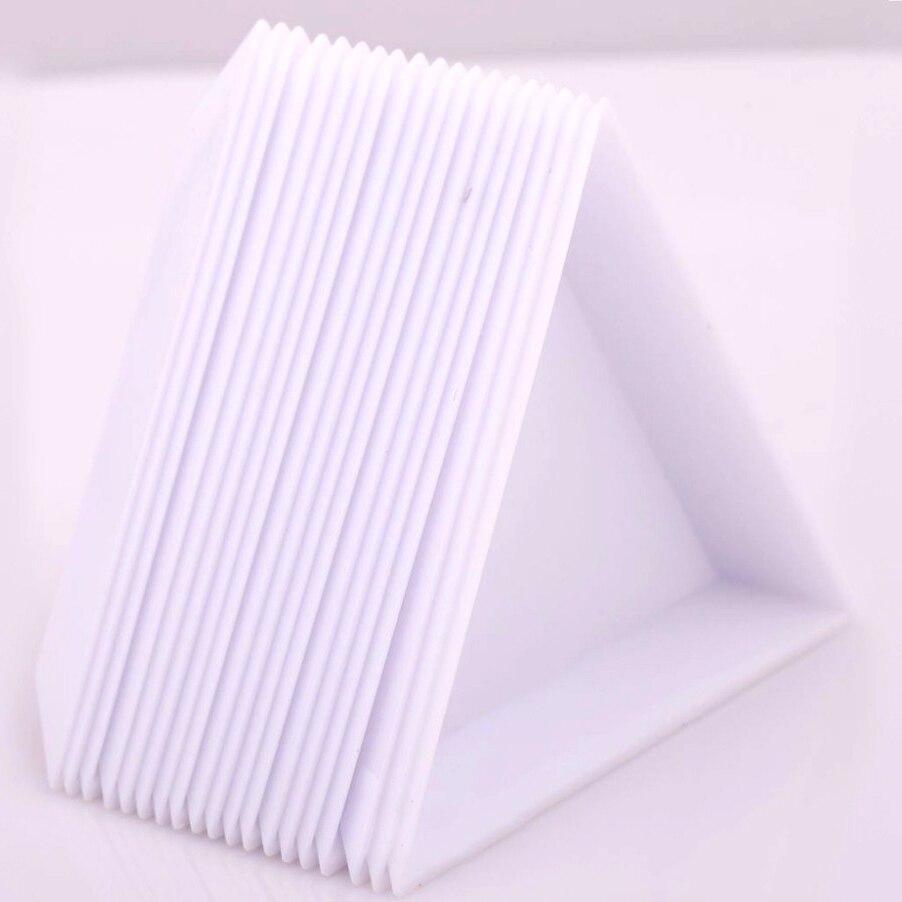 10 Stücke Umwelt Pp Dreieck Platte Tablett Verpackung Lagerung Kunststoffbehälter Für Perlen Schmuck Display Veranstalter Horder