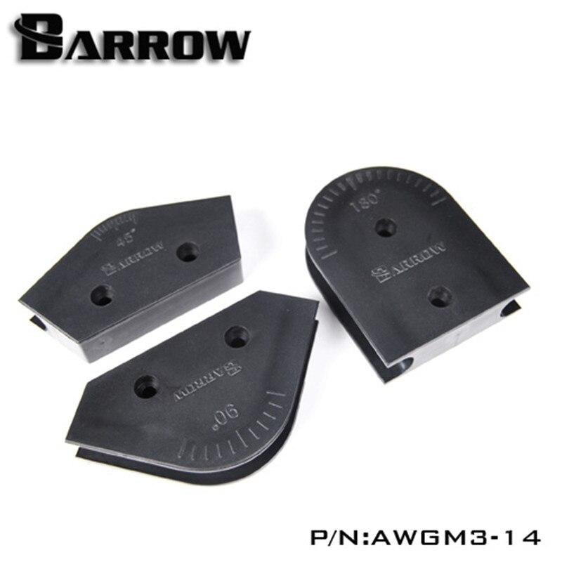 Barrow acrylic tubing bender abs multi-angle 12mm 14mm 16mm hard tube  bending mold kit for acrylic/pmma/petg tube