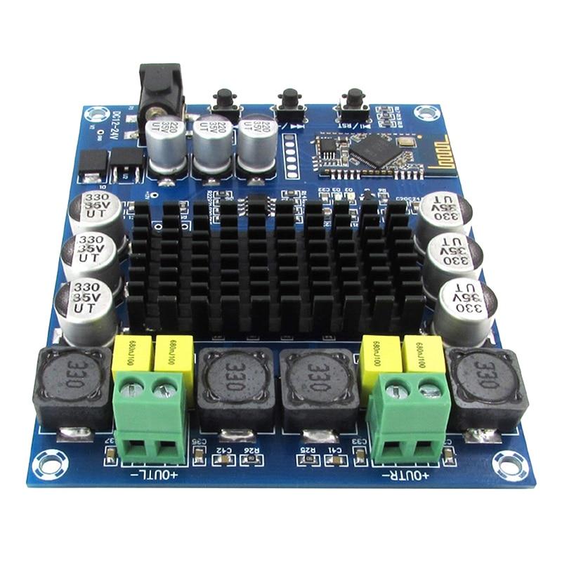 <font><b>1</b></font> Set DIY US TPA3116D2 <font><b>2</b></font>*120W Wireless <font><b>Bluetooth</b></font> 4.0 Audio Digital <font><b>Amplifier</b></font> Board+Case 98*79*16mm