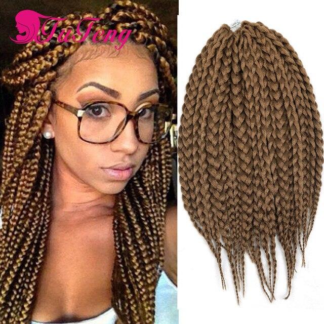 Box Braids Hair 14 Crochet Braids Hair Extensions Tuteng Synthetic