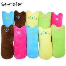 Soft Plush Stuffed Cat Peppermint Pet Toys for Cats Chew Teeth Grinding Catnip Kitten Medium Cat Toys Claws Thumb Bite Cat mint