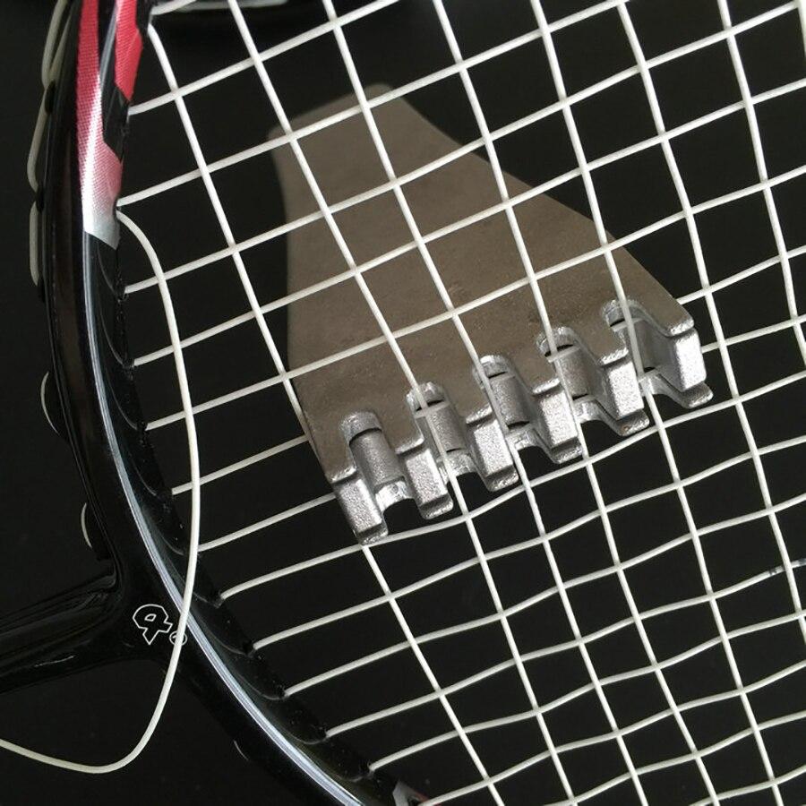 2pcs Tennis String Metal Flying Clamp Metal String Machine Tools Badminton Speed Sliver Clamp Tools