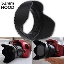 Universal Petal Lens Hood 52mm Screw-in Tulip Flower Filter Thread Camera Lens Hood Shade Light Shield Sunshade For Nikon Sony цена