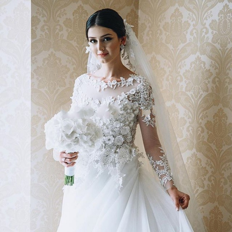 49c027b342043 Robe De Mariage Vintage Lace Appliques Luxury Wedding Dresses 2016 Beaded  Long Sleeves Charming Wedding Gowns Vestido De Novia-in Wedding Dresses  from ...