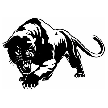 car side sticker panther tribal vinyl graphics decals Vinyl Hobby Bumper Sticker Car Styling Car Sticker image