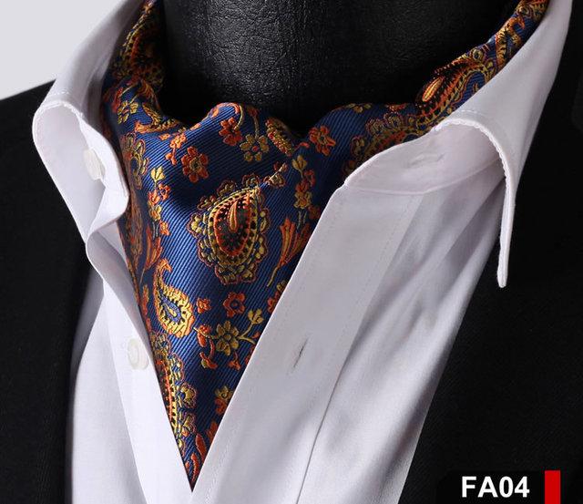 2015 Nuevo de Alta Calidad de La Manera Floral Dot Corbatas Corbata de Poliéster Corbata De Seda Para Hombres Male Boda Formal Oficial