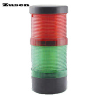 Zusen new with buzzer TB70 2T D J 12v 24v 220v the combination of constant and strobe led 70mm signal tower light