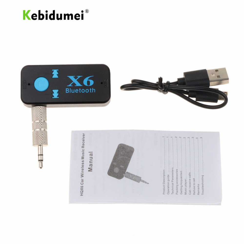 kebidumei usb wireless bluetooth music audio receiver x6. Black Bedroom Furniture Sets. Home Design Ideas