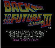 Back To The Future III 16 bit MD Game Card For Sega Mega Drive For Genesis