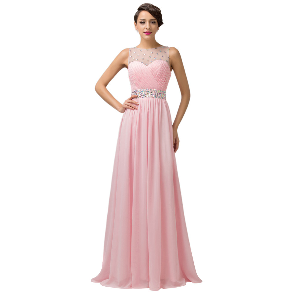 Grace Karin Cheap Pink Purple Bridesmaid Dresses Under $50, Long Backless Designer Wedding Guest Dress For Bridemaid Party 6112 5