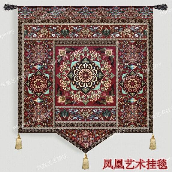 morocco villa mia soft wall hanging tapestry cotton home textile deco tapiz gobelin tapisserie. Black Bedroom Furniture Sets. Home Design Ideas