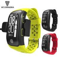 VESTMADRA S908 GPS Smart Bracelet IP68 Waterproof Smart Band Heart Rate Monitor Call Message Reminder